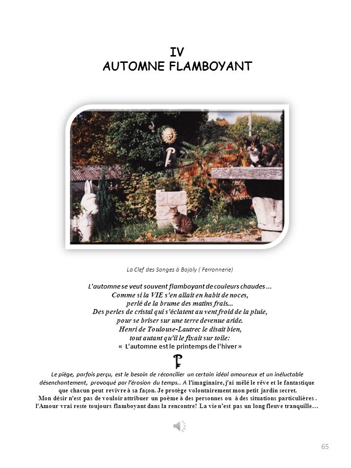 IV AUTOMNE FLAMBOYANT.
