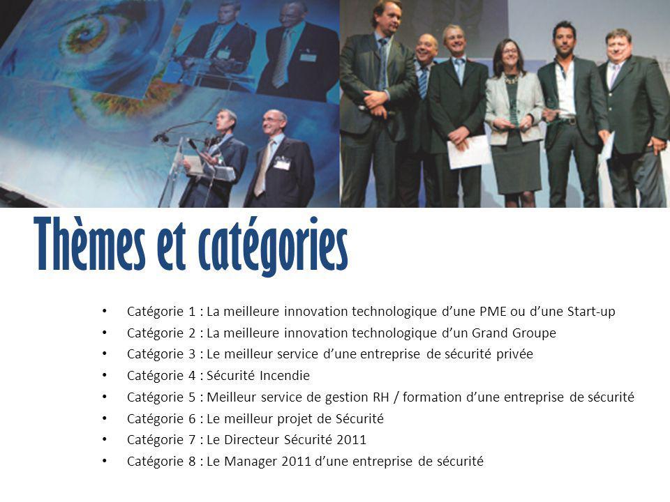 Thèmes et catégories Catégorie 1 : La meilleure innovation technologique d'une PME ou d'une Start-up.