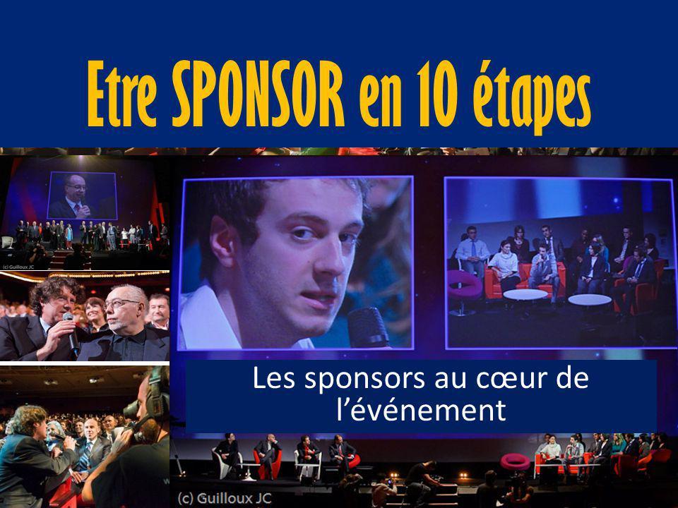 Les sponsors au cœur de l'événement