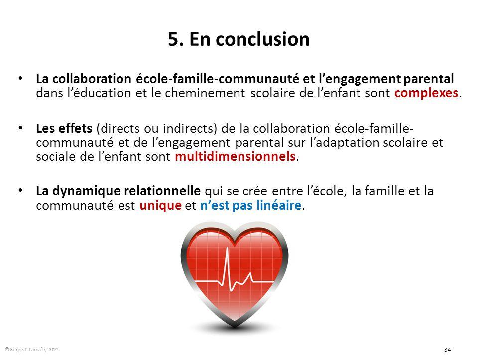 5. En conclusion