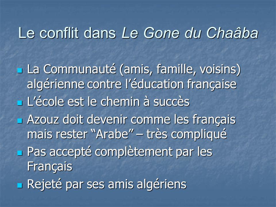 Le conflit dans Le Gone du Chaâba