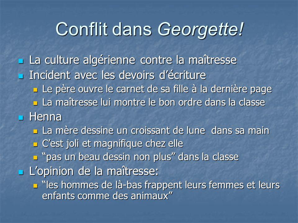 Conflit dans Georgette!