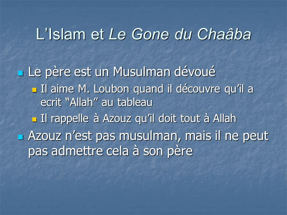 L'Islam et Le Gone du Chaâba