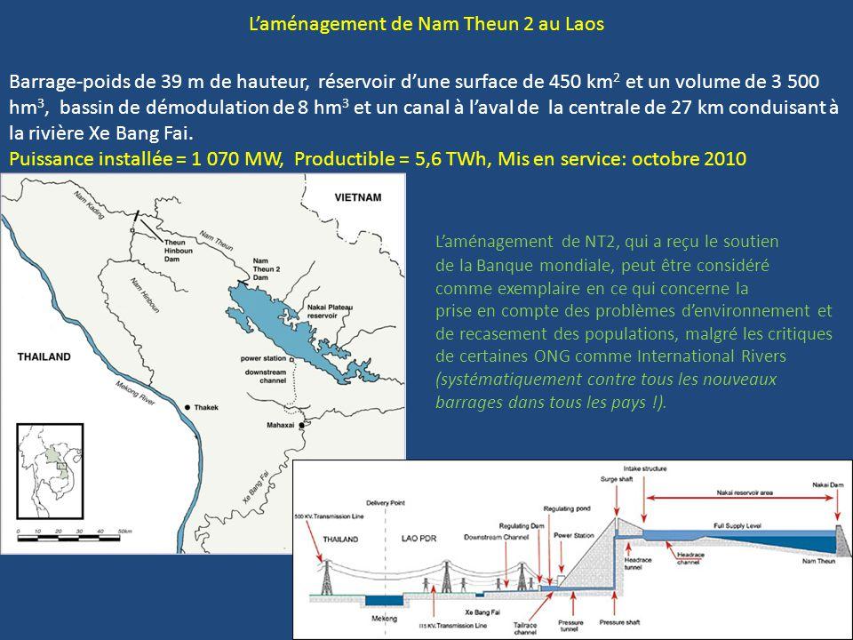 L'aménagement de Nam Theun 2 au Laos