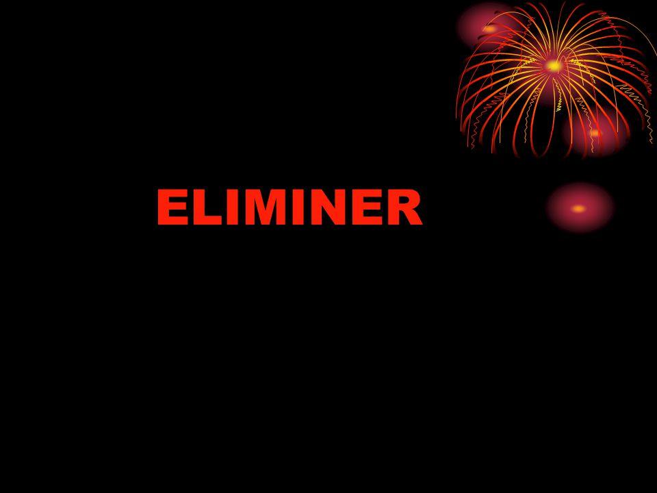 ELIMINER