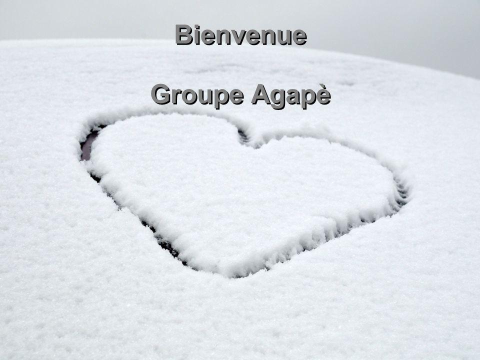 Bienvenue Groupe Agapè
