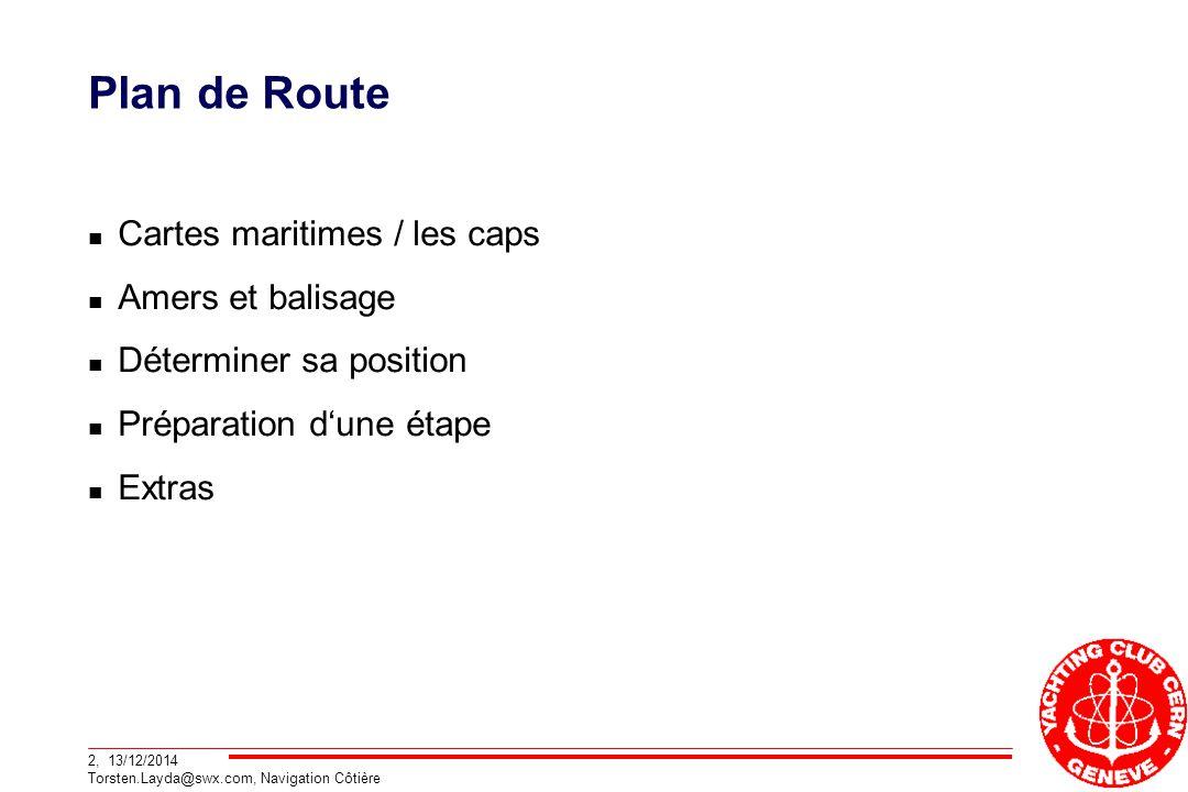 Plan de Route Cartes maritimes / les caps Amers et balisage