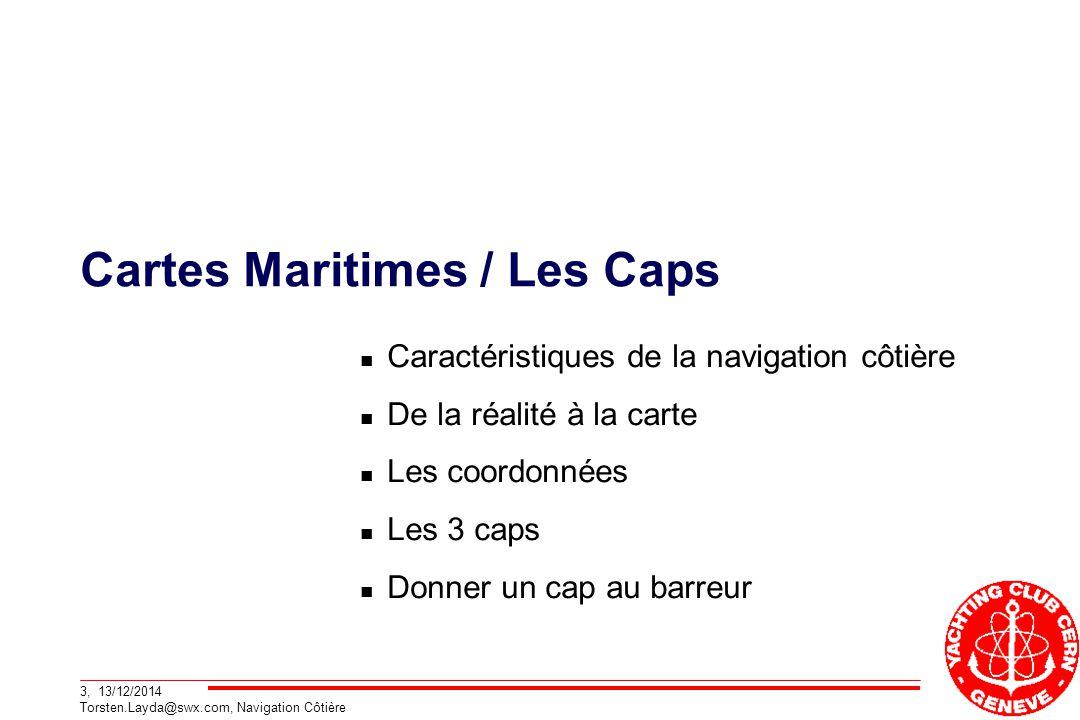 Cartes Maritimes / Les Caps