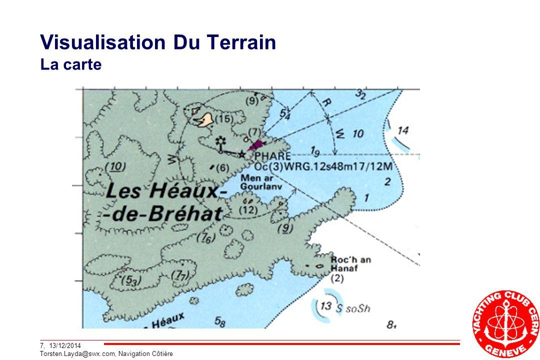 Visualisation Du Terrain La carte