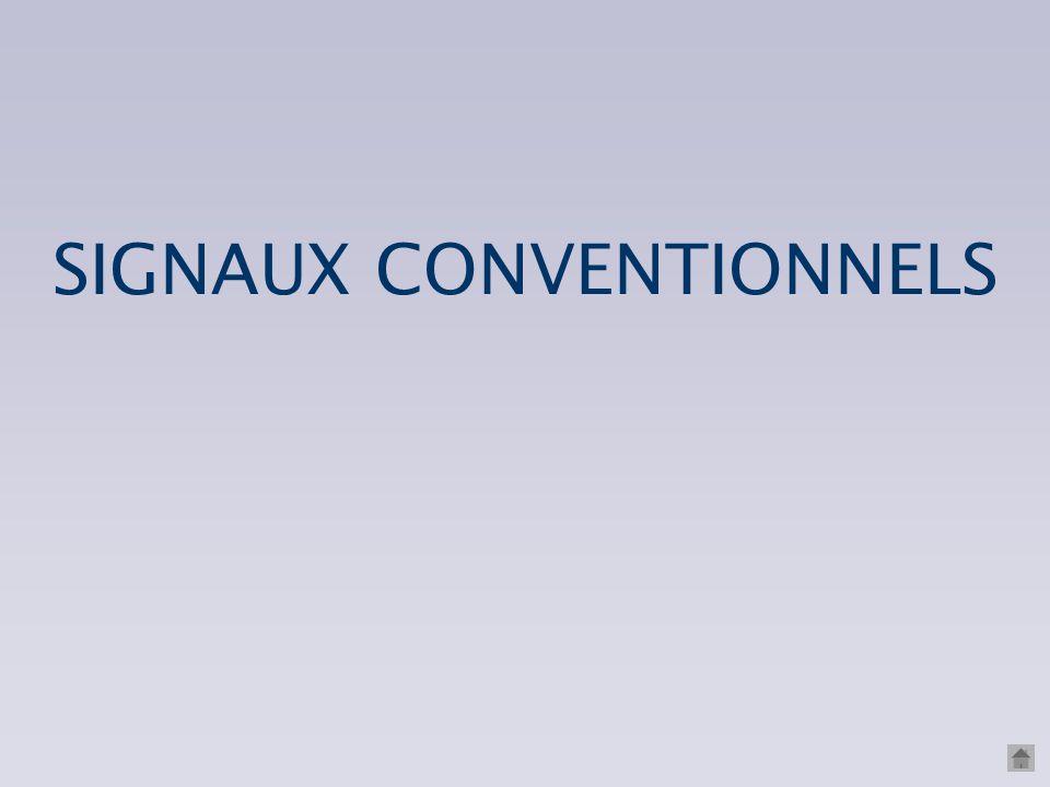 SIGNAUX CONVENTIONNELS