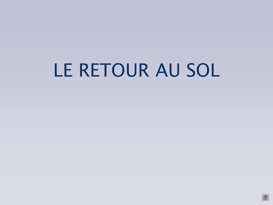 LE RETOUR AU SOL