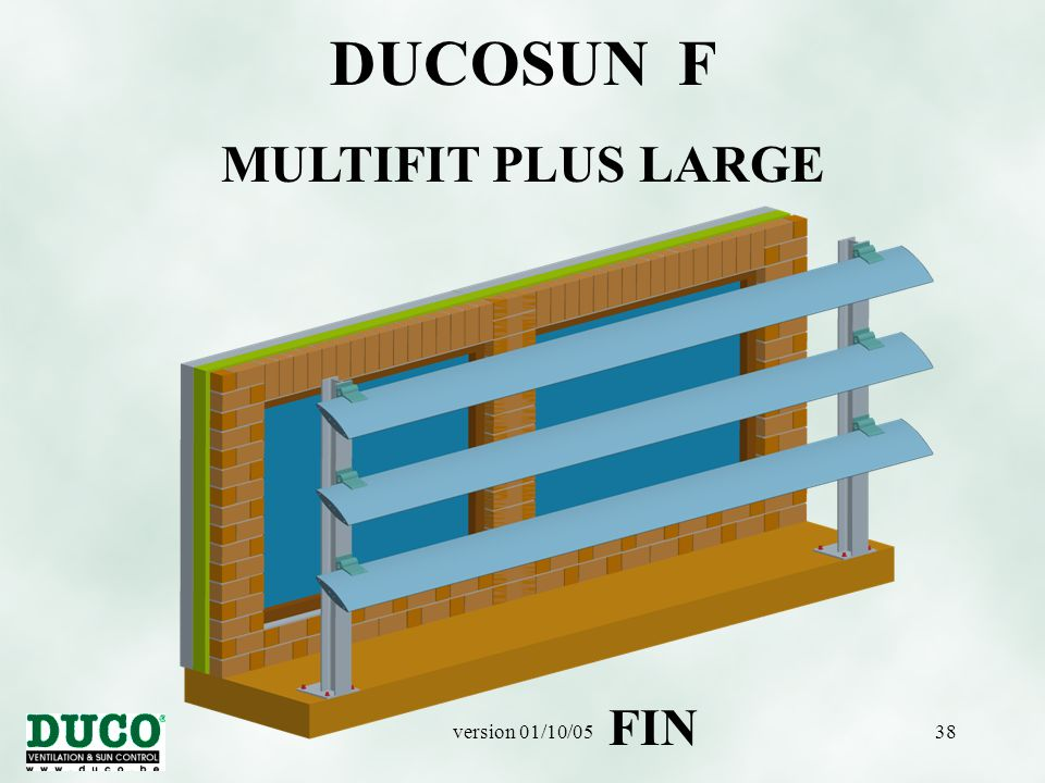 DUCOSUN F MULTIFIT PLUS LARGE FIN version 01/10/05