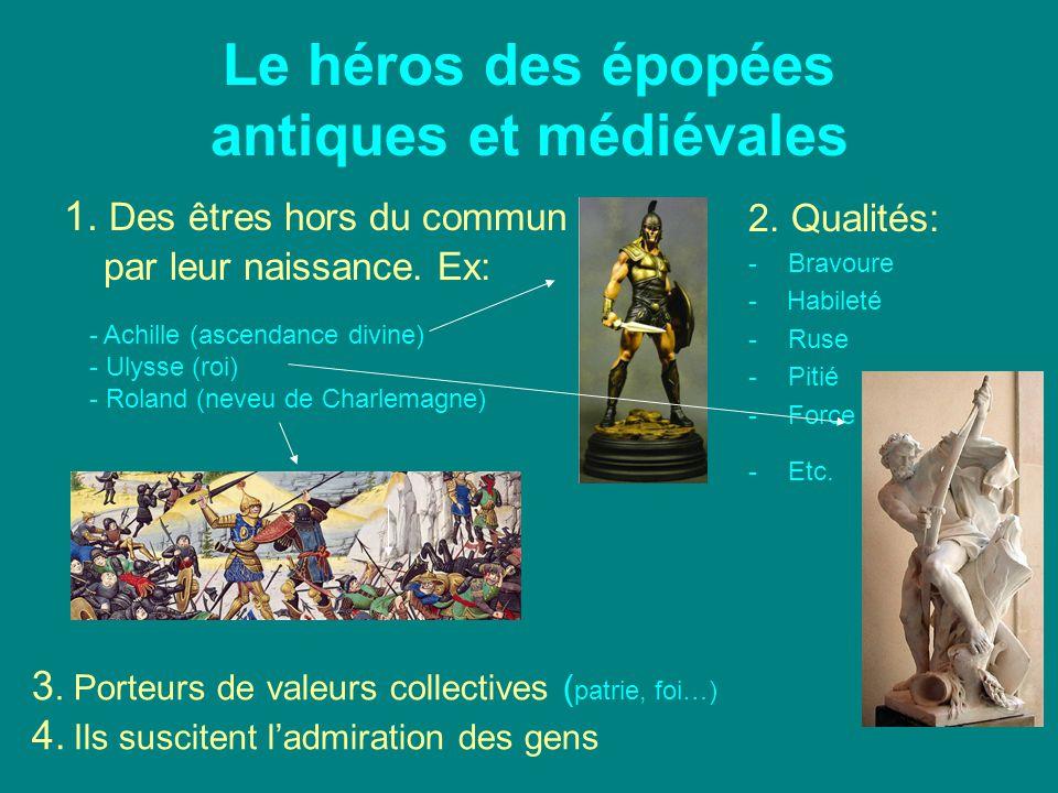 Le héros des épopées antiques et médiévales