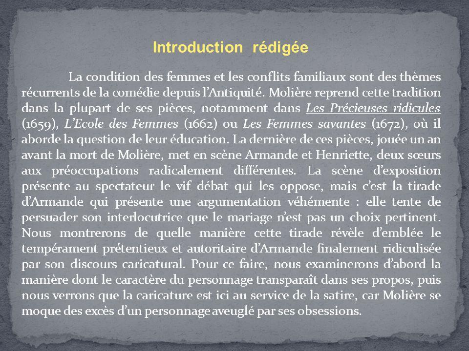 Introduction rédigée
