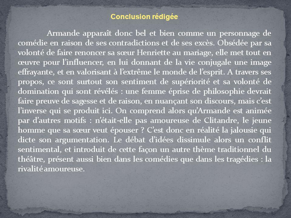 Conclusion rédigée