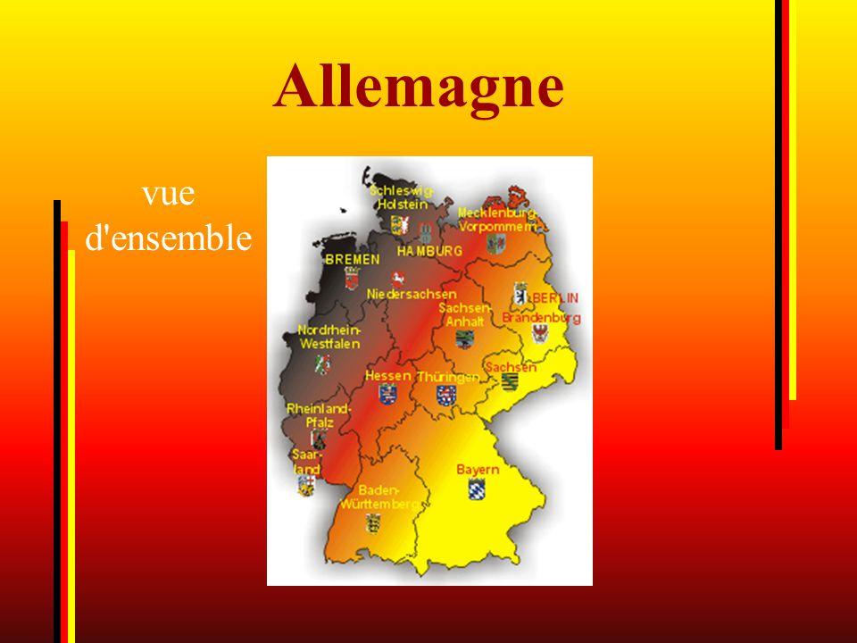 Allemagne vue d ensemble