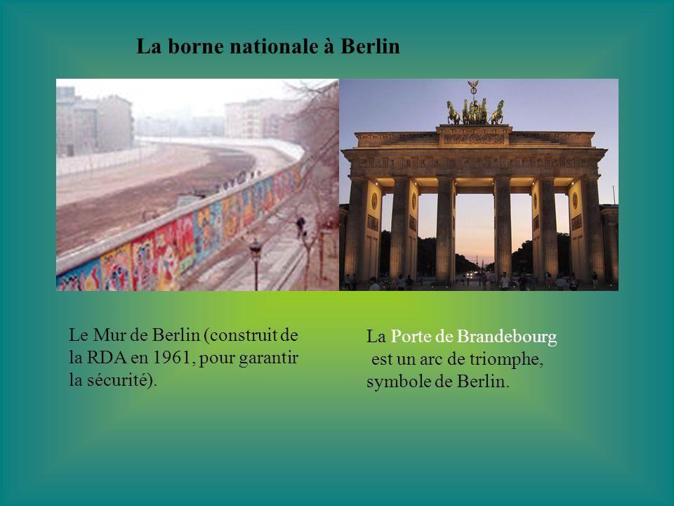 La borne nationale à Berlin