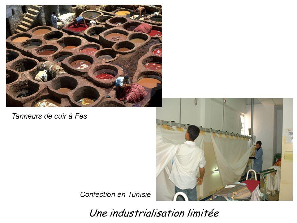 Une industrialisation limitée