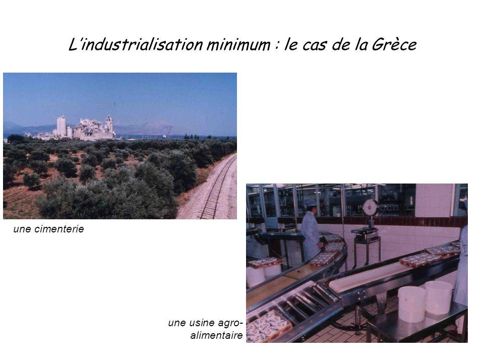 L'industrialisation minimum : le cas de la Grèce