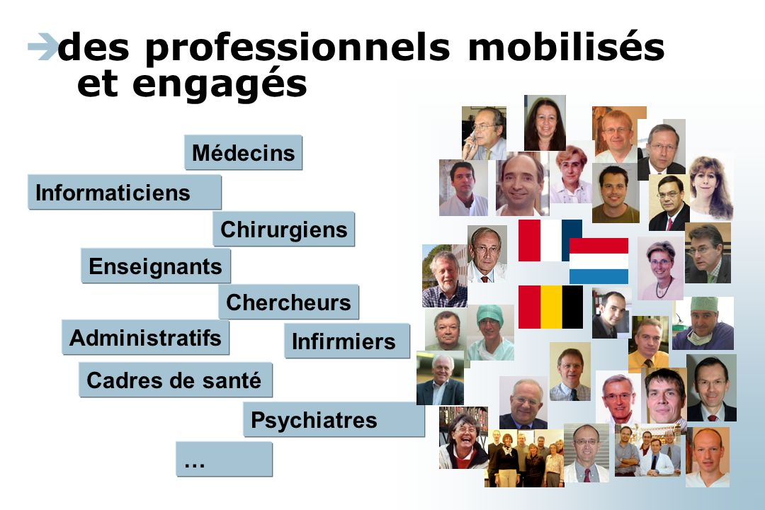 des professionnels mobilisés et engagés