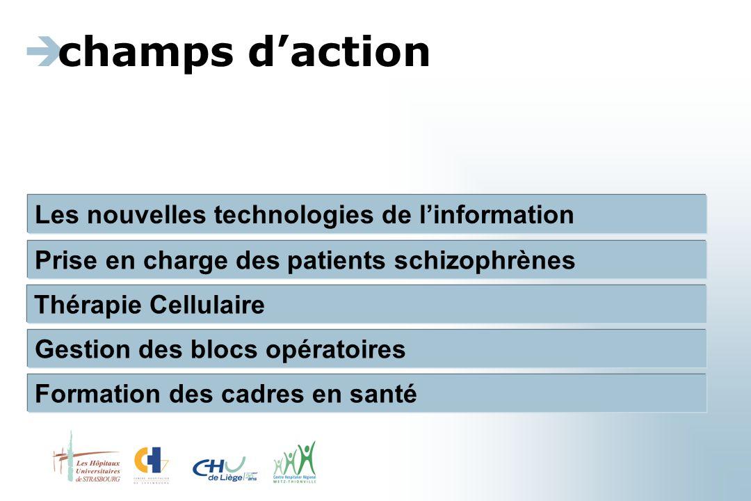 champs d'action Les nouvelles technologies de l'information