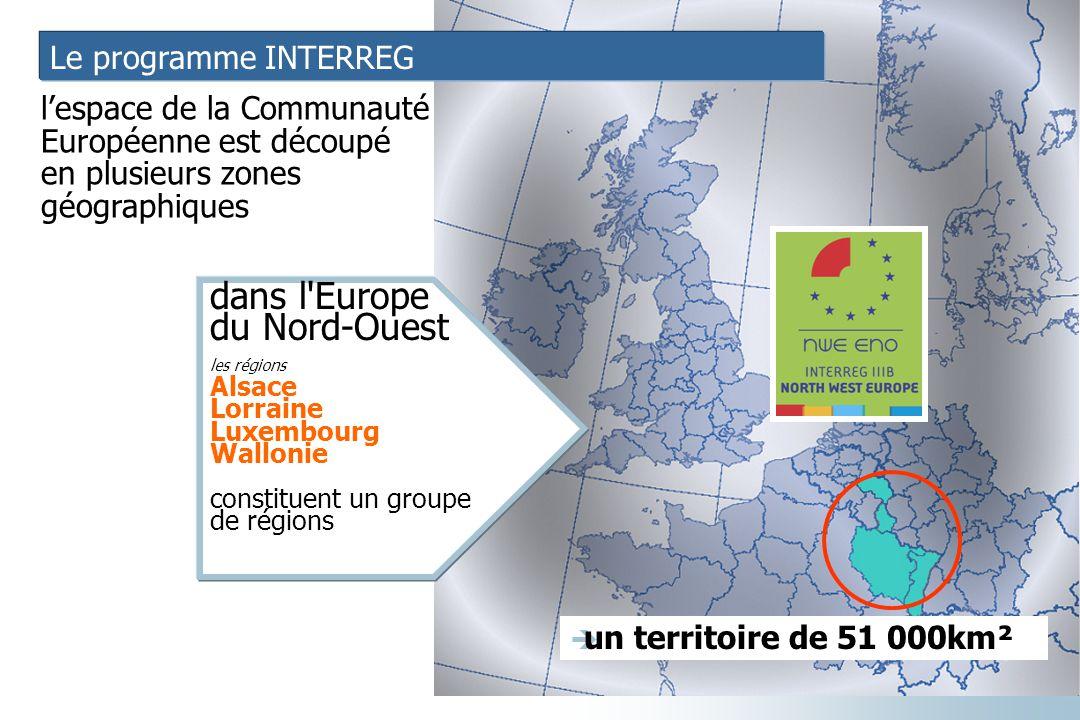 dans l Europe du Nord-Ouest Le programme INTERREG