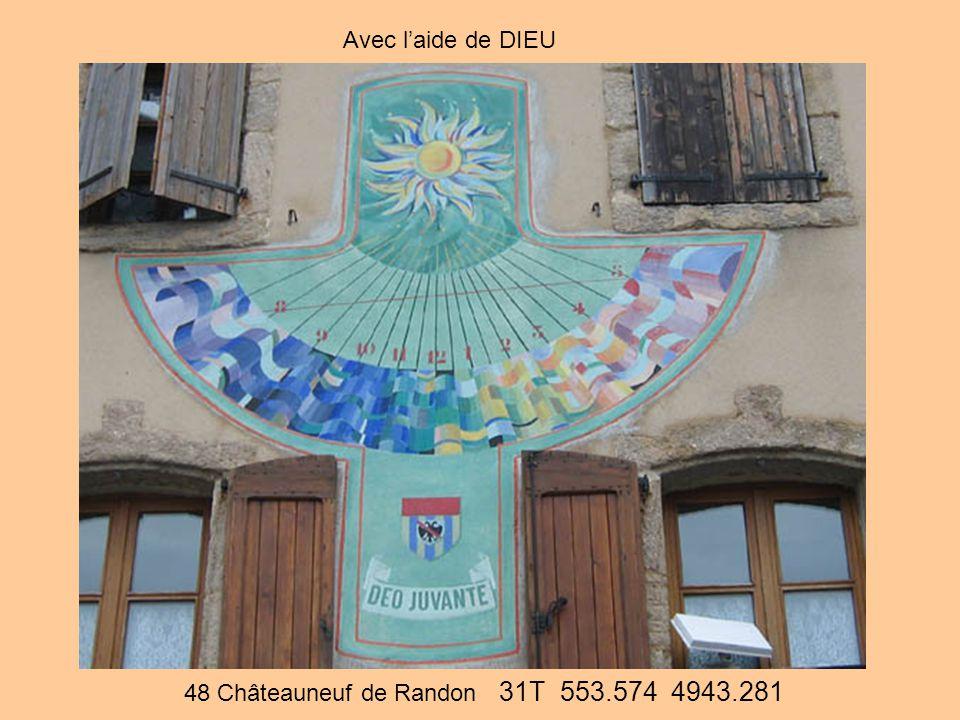 48 Châteauneuf de Randon 31T 553.574 4943.281