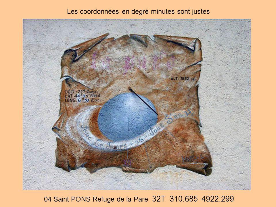 04 Saint PONS Refuge de la Pare 32T 310.685 4922.299