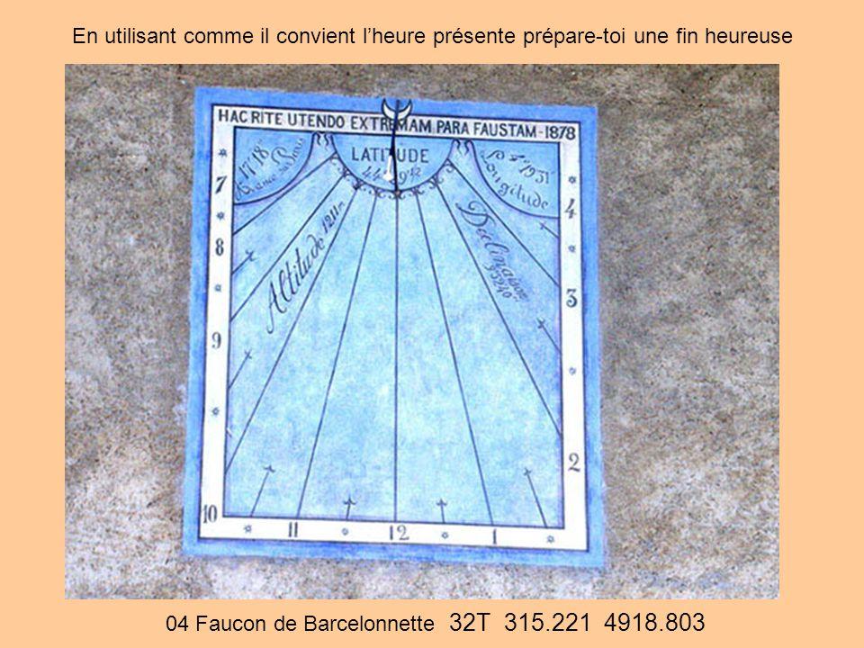 04 Faucon de Barcelonnette 32T 315.221 4918.803