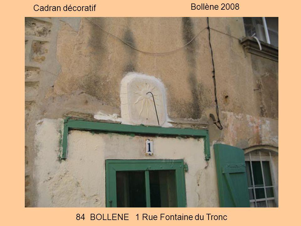 84 BOLLENE 1 Rue Fontaine du Tronc