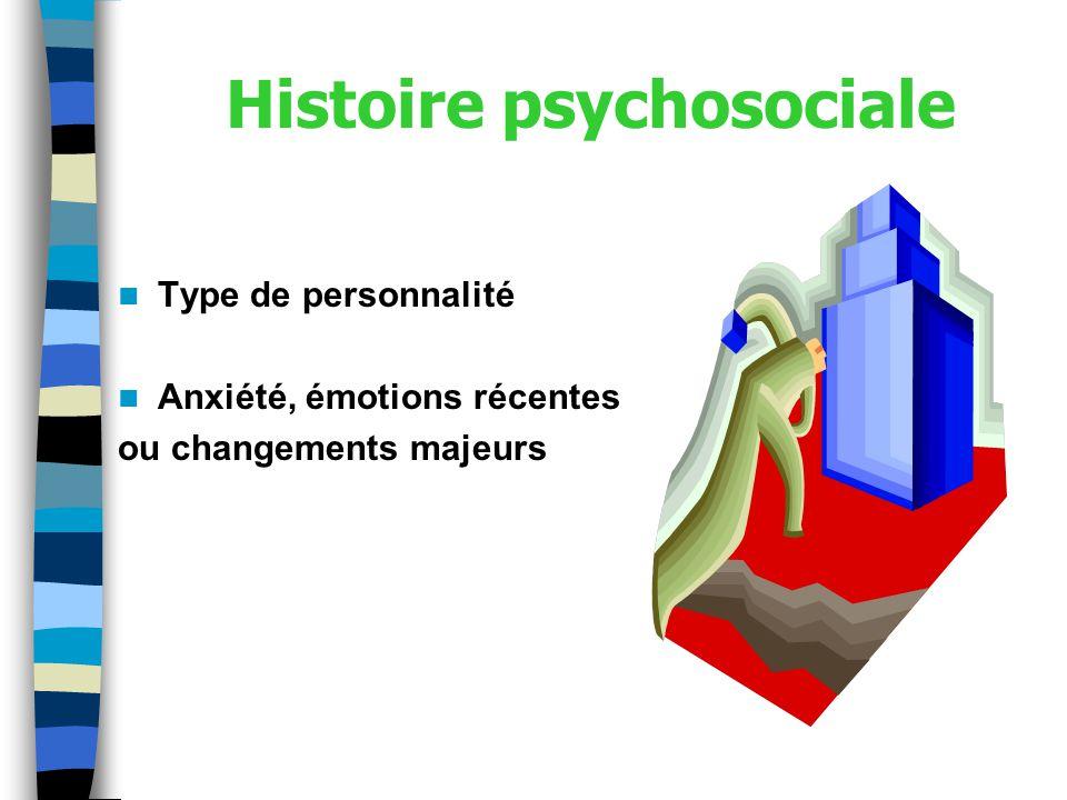 Histoire psychosociale
