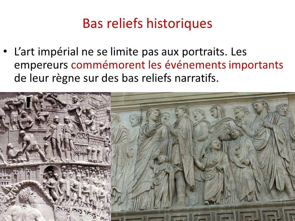 Bas reliefs historiques
