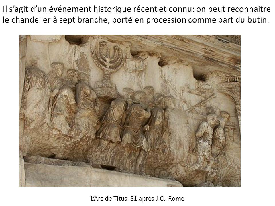 L'Arc de Titus, 81 après J.C., Rome