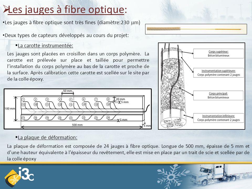 Les jauges à fibre optique: