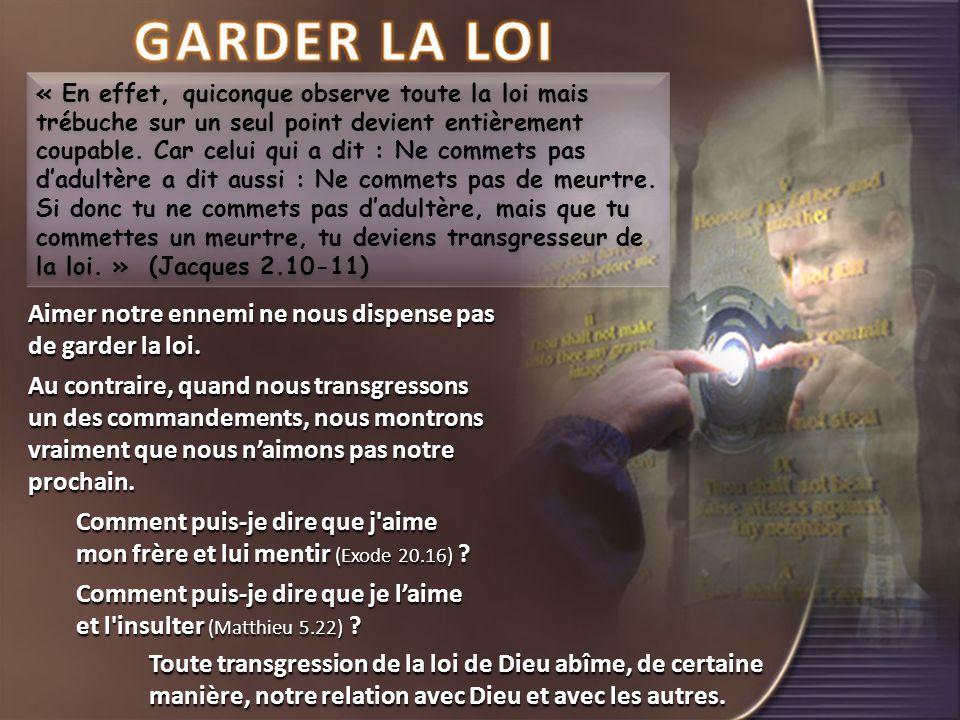 GARDER LA LOI