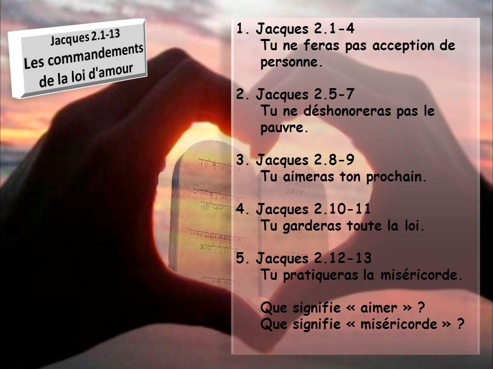 Les commandements de la loi d amour
