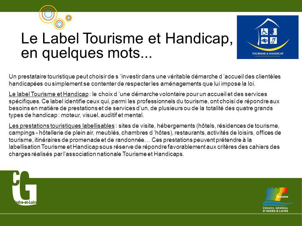 Le Label Tourisme et Handicap, en quelques mots...