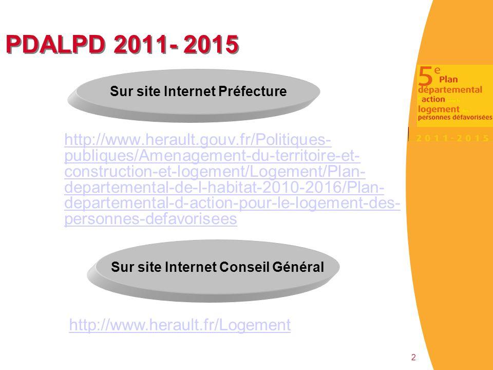 Sur site Internet Préfecture Sur site Internet Conseil Général