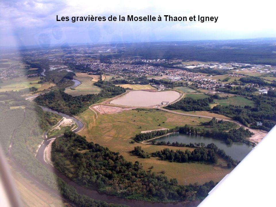 Les gravières de la Moselle à Thaon et Igney