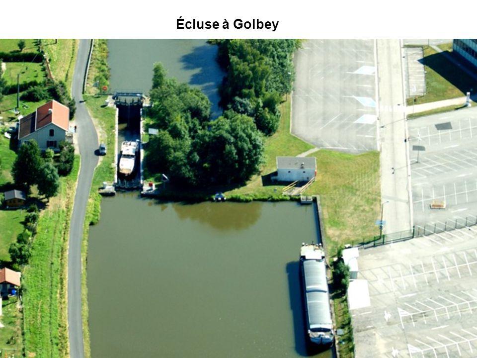 Écluse à Golbey Stationnement