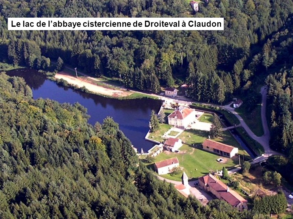 Le lac du couvent récollet de Bulgnéville