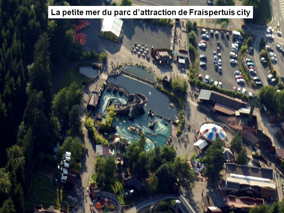 La petite mer du parc d'attraction de Fraispertuis city
