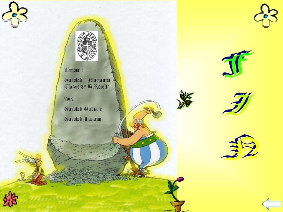 FIN Layout : Garofoli Marianna Classe 3° B Rotella Voix: