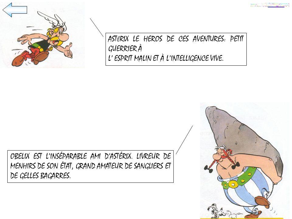 ASTÉRIX LE HEROS DE CES AVENTURES: PETIT GUERRIER À