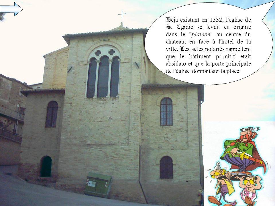 Déjà existant en 1332, l église de S
