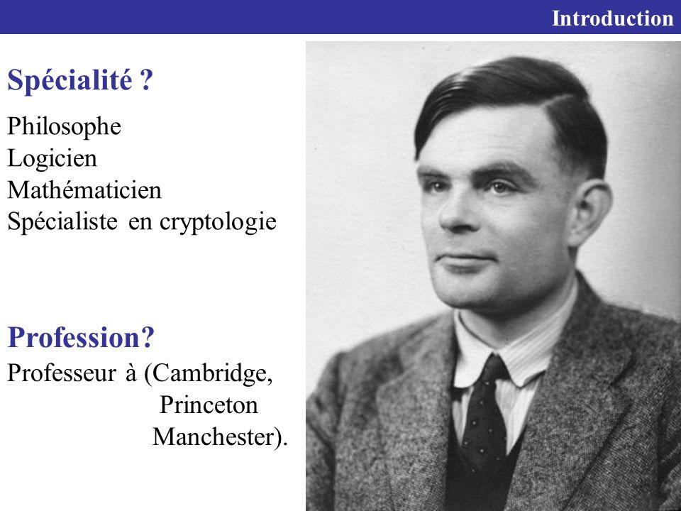 Spécialité Profession Philosophe Logicien Mathématicien