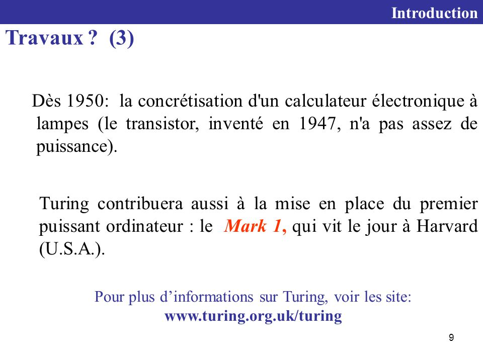 Introduction Travaux (3)