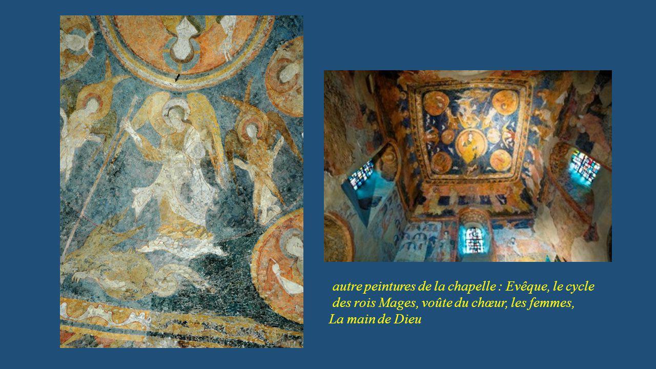 autre peintures de la chapelle : Evêque, le cycle