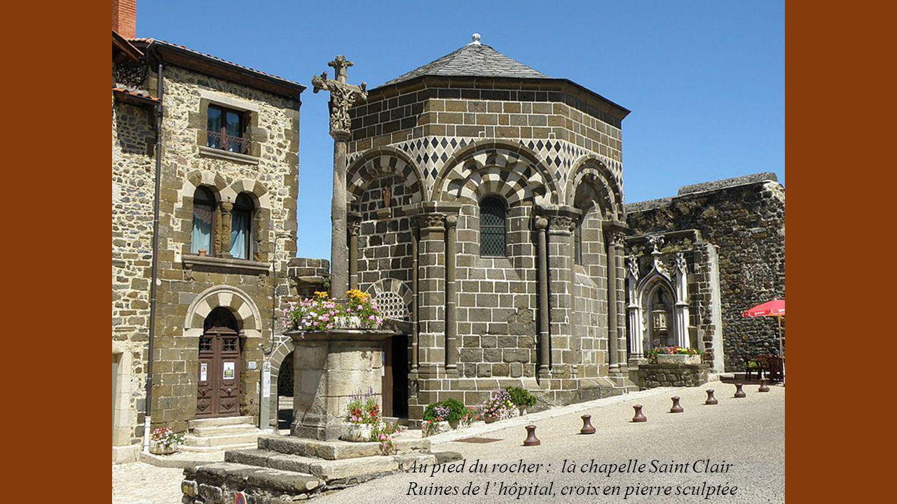 Au pied du rocher : la chapelle Saint Clair