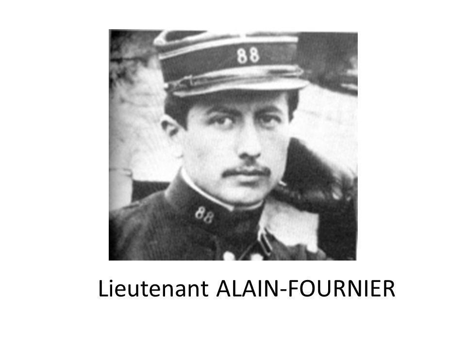 Lieutenant ALAIN-FOURNIER